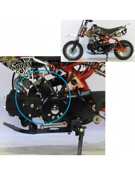 Tapa encendido de 2 bobinas arranque eléctrico - Motosapollo.com