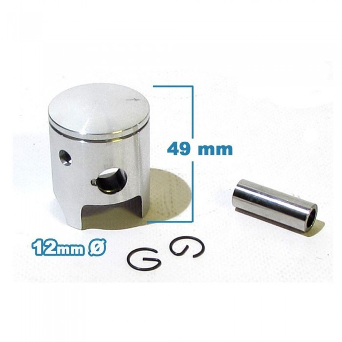 Piston 39.5mm 50cc 2T - Motosapollo.com