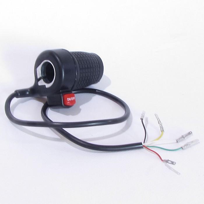 Acelerador eléctrico 36V 5pin - Motosapollo.com