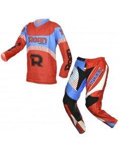 Traje moto Cross niño MX21 de roan - Motosapollo.com