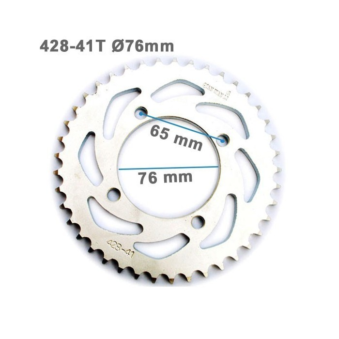 Plato arrastre 428-41T 76mm - Motosapollo