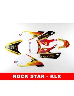 Adhesivos KLX rock star pit bike - Motosapollo.com