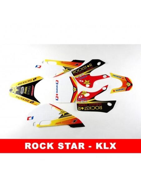 Adhesivos KLX rock star pit bike