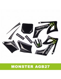 Adhesivos pit bike AGB27 Monster