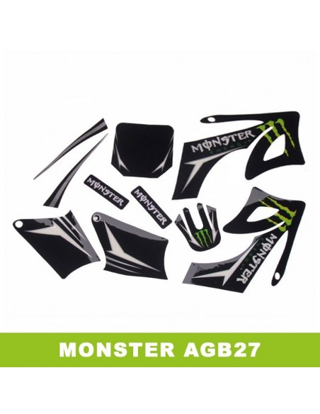 Adhesivos pit bike AGB27 Monster