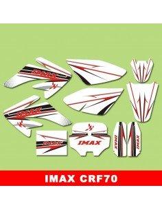 Adhesivos pit bike crf 70 Imax - Motosapollo.com