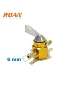 Llave paso gasolina aluminio 6mm