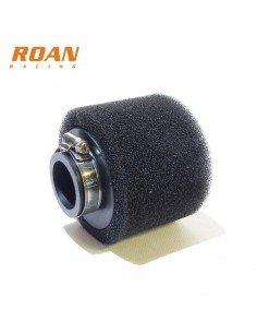 Filtro aire 35mm esponja recto - Motosapollo