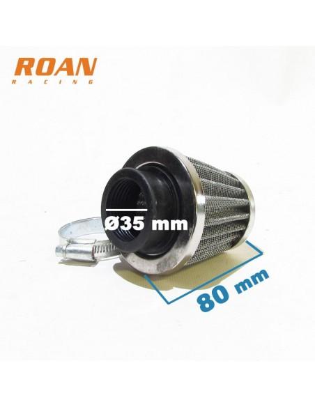Filtro aire 35mm alto serie - Motosapollo