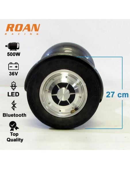Monociclo Electrico Roan Smart 500W R10 Bluetooth - Motosapollo