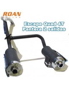 Escape quad 4T pantera doble