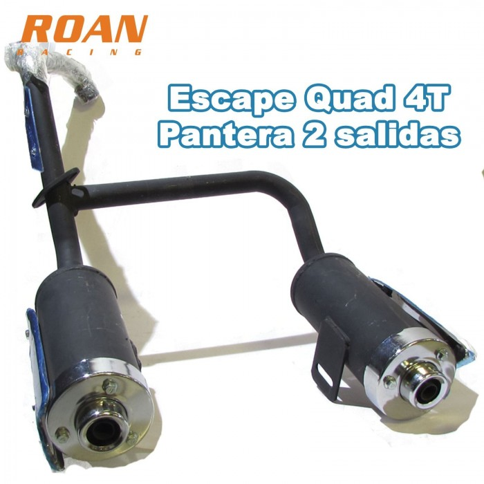 Escape quad 4T pantera doble