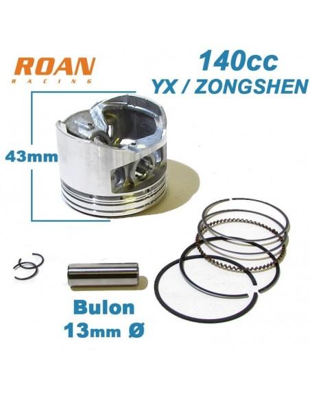 Kit piston 56mm 140cc YX / Zongshen pit bike - Motosapollo