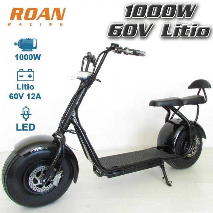 Patinete electrico ROAN 1000W 60V Litio - Motosapollo.com