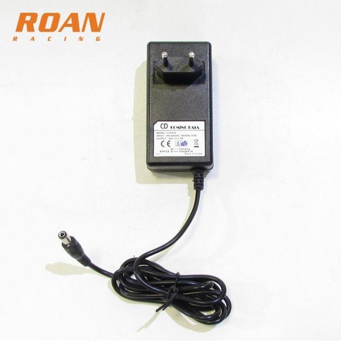 Cargador bateria 24V-1.5Ah hembra - Motosapollo.com