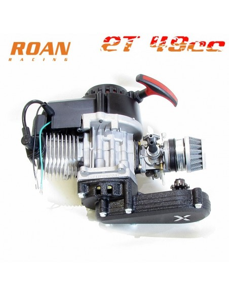Motor 49cc V3 reductora larga