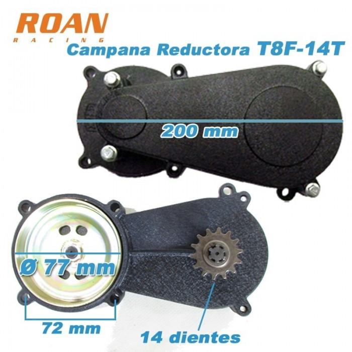 Campana reductora T8F 14T - Motosapollo.com