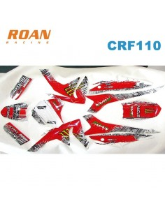 Adhesivos CRF110 Monster-rojo
