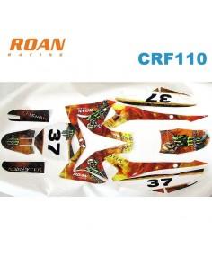 Adhesivos CRF110 Monster AXE 125cc