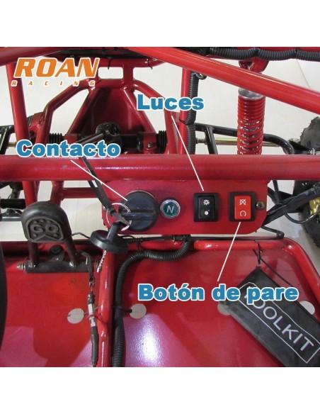 Buggy 110cc junior biplaza - Motosapollo.com