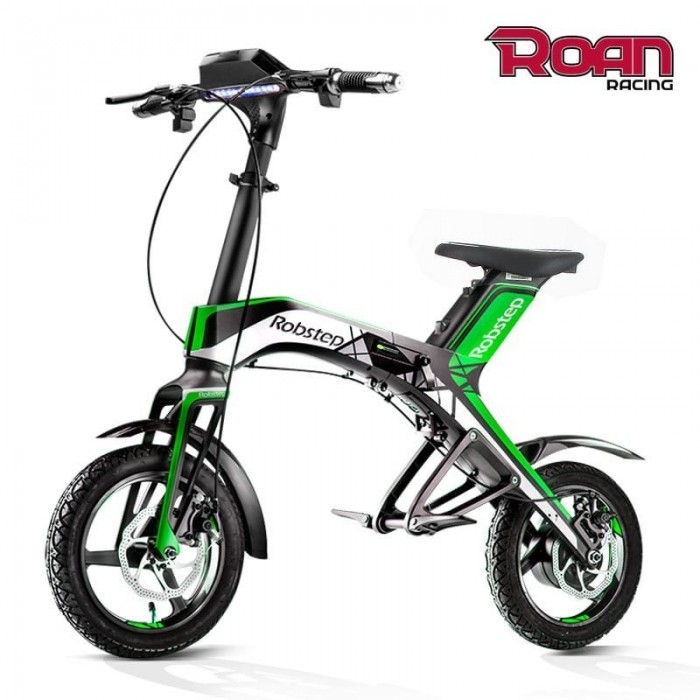 Bicicleta eléctrica plegable - Motosapollo.com