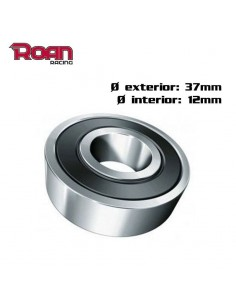 Rodamiento 6301 RS 37x12 mm