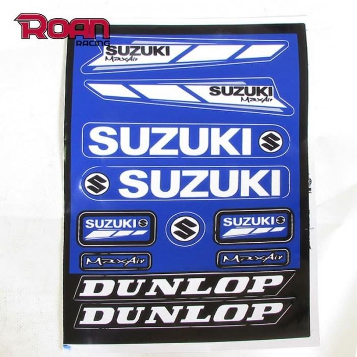 Pliego pegatinas suzuki 32x22 cm - Motosapollo.com