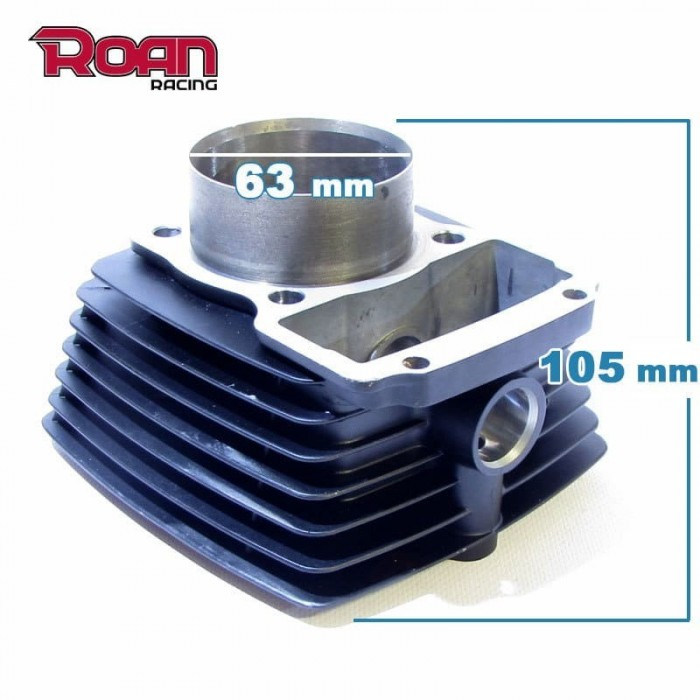 Cilindro 63mm 200cc con varillas - Motosapollo.com