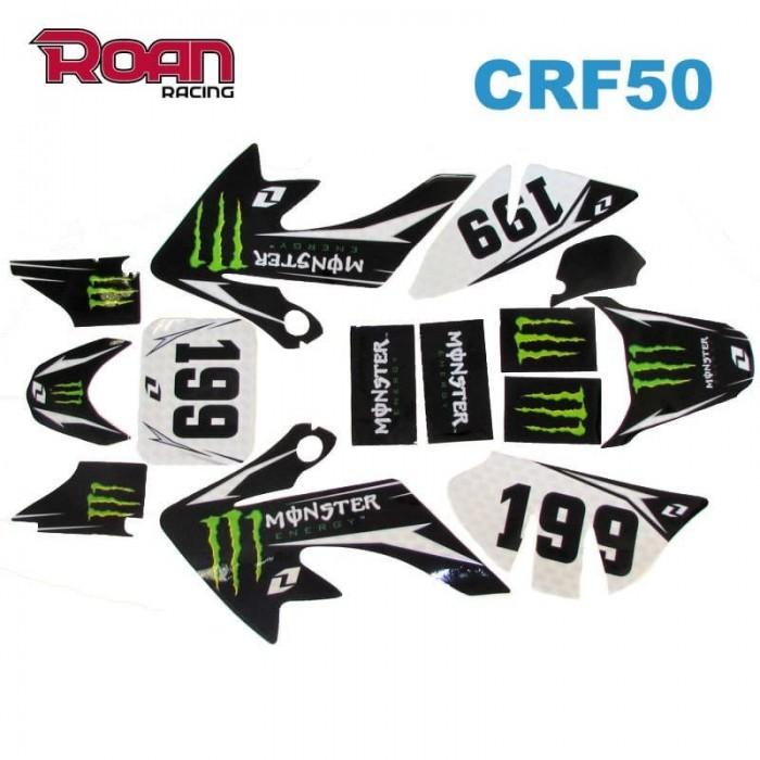 Adhesivos CRF50 Monster 199 - Motosapollo.com