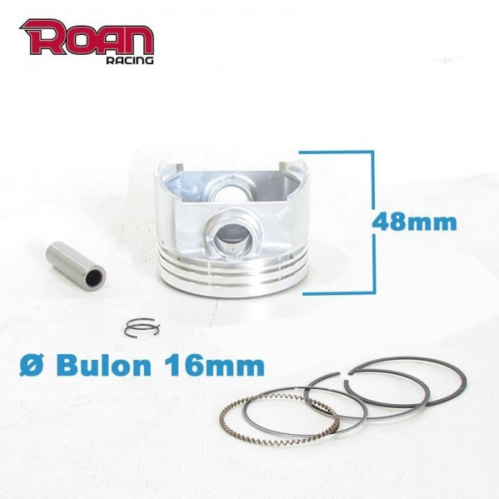 Kit piston 67mm 250cc bulon 16mm - Motosapollo.com