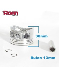 Piston 60X38 mm (bulon 13mm) 150-160cc YX