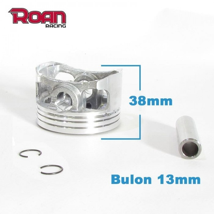 Piston 60x38mm (bulon 13mm) 150-160cc YX - Motosapollo.com