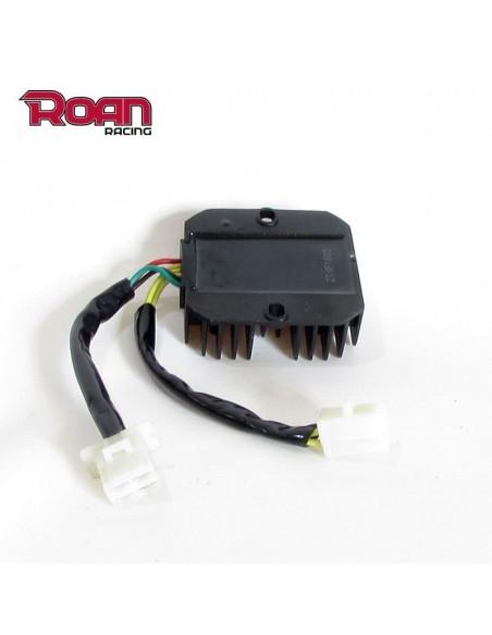Regulador corriente 6 pin 2 clavijas R5 - Motosapollo.com