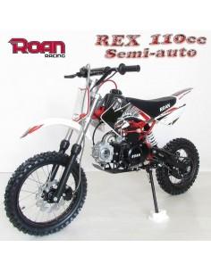 Pit Bike 110cc Semi-automatica ROAN REX