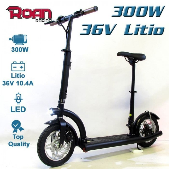 Patinete electrico roan slim 300W 36V litio - Motosapollo