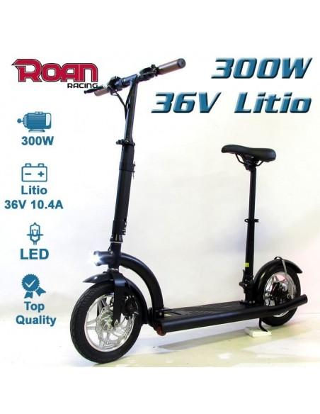 Patinete electrico ROAN slim 300W 36V litio