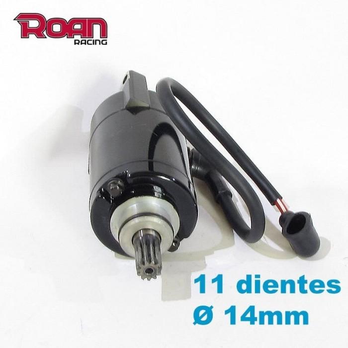 Motor arranque 11 dientes 4T - Motosapollo.com