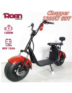 Patinete eléctrico chopper 1200W