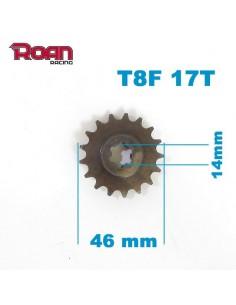 Piñon salida 17T T8F reductora - Motosapollo.com