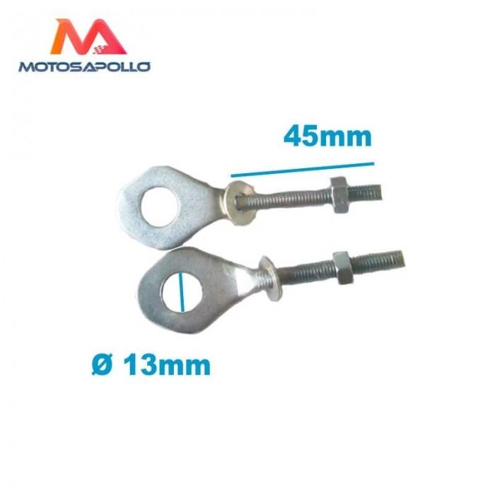 Tensores cadena acero eje 12mm - Motosapollo.com