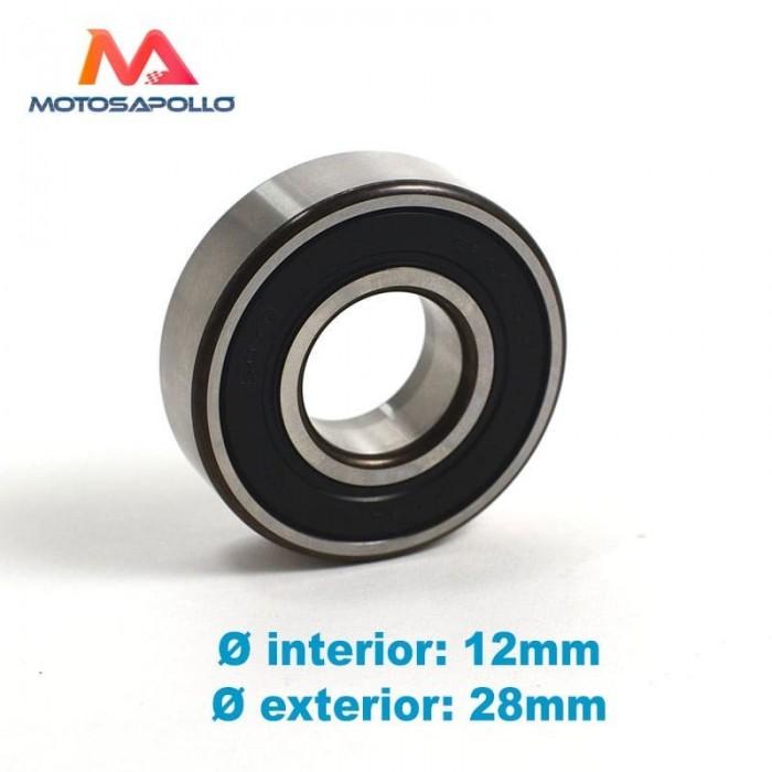 Rodamiento 6001 RS - Motosapollo.com