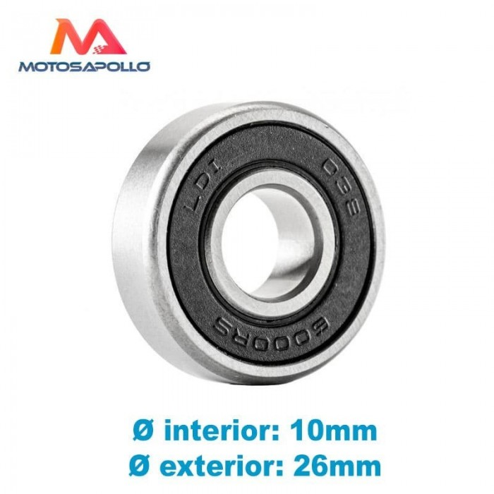 Rodamiento 6000 RS - Motosapollo.com