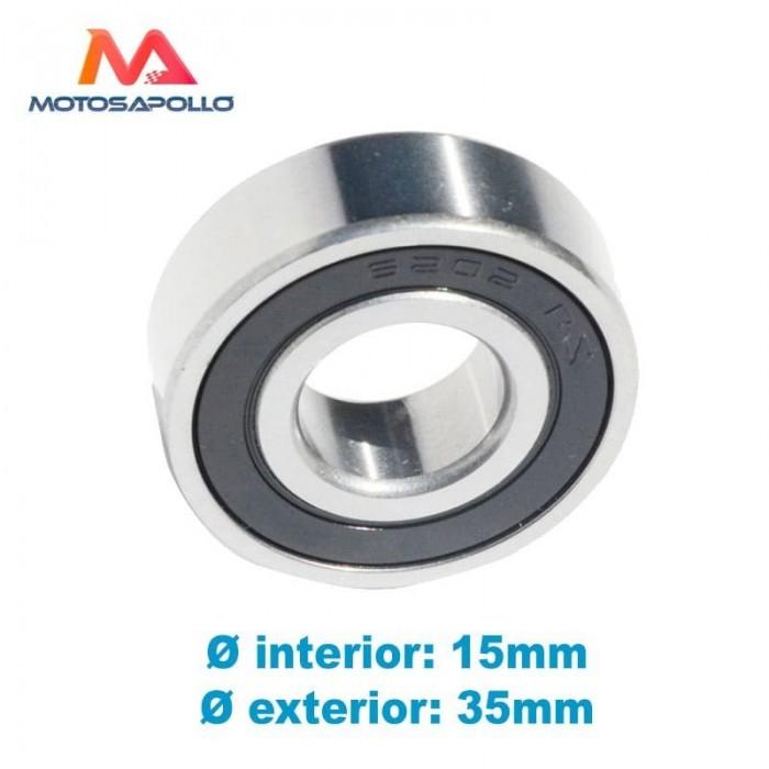 Rodamiento 6202 RS - Motosapollo.com
