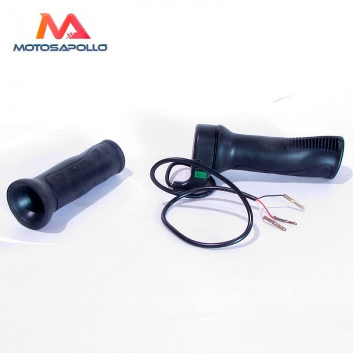 Puño acelerador eléctrico 3 pin - Motosapollo.com