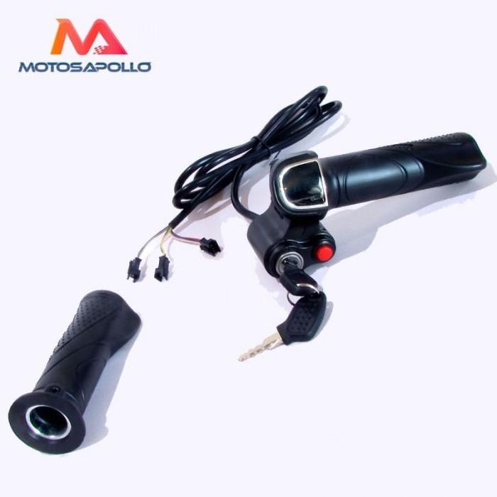 Acelerador eléctrico 7pin 48V - Motosapollo.com
