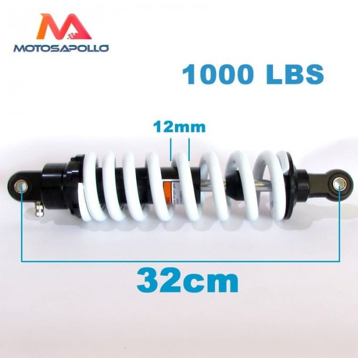 Amortiguador 320mm 1000lbs - Motosapollo.com