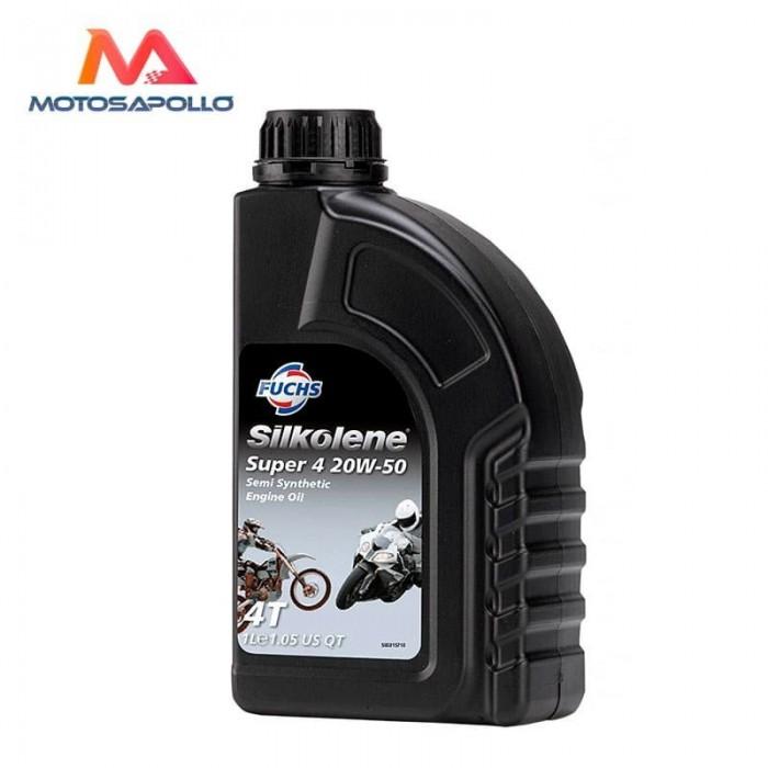 Aceite 4T 20W50 Silkolene - Motosapollo.com