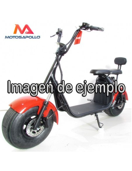 Asiento patinete chopper - Motosapollo.com