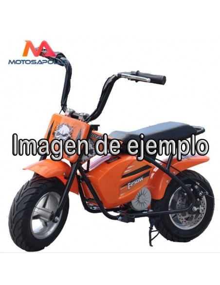 Asiento mini moto eléctrica 250W - Motosapollo.com