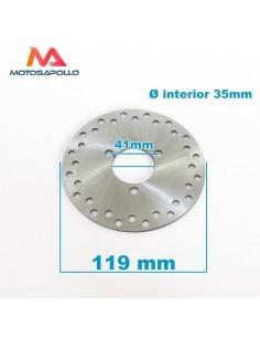 Disco freno 35x119mm mini quad - Motosapollo.com